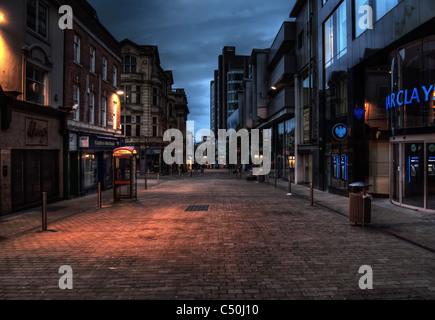 Albion Street in Leeds - Stockfoto