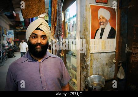 Eine Szene in Delhi, Indien - Stockfoto
