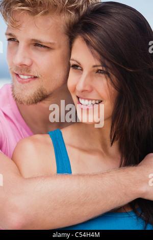 Nahaufnahme von ein paar romancing - Stockfoto