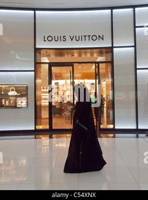 21de51fda499d Louis Vuitton Store in der Dubai Mall in Dubai Vereinigte Arabische Emirate  VAE - Stockfoto