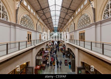 Marktplatz in den restaurierten Fähre Gebäude von San Francisco Kalifornien ungebundene Stadtstaaten Amerika USA - Stockfoto