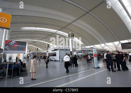 Terminal 1 Toronto Pearson internationaler Flughafen Ontario Kanada - Stockfoto