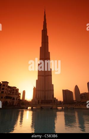 Burj Khalifa, Dubai, Vereinigte Arabische Emirate (VAE) - Stockfoto