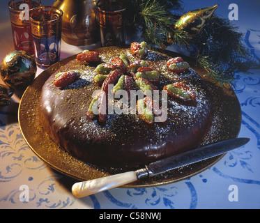 Turkische Datum Pistazien Kuchen Stockfoto Bild 277626648 Alamy