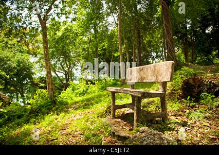 Einen freien Platz in einem Fantasy-Wald - Stockfoto