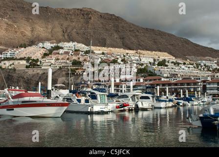 Los Gigantes Hafen Teneriffa, Kanarische Inseln-Spanien - Stockfoto