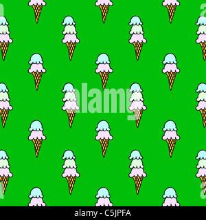 Eis-Thema Hintergrund - nahtlos - exklusiv bei Alamy - Stockfoto