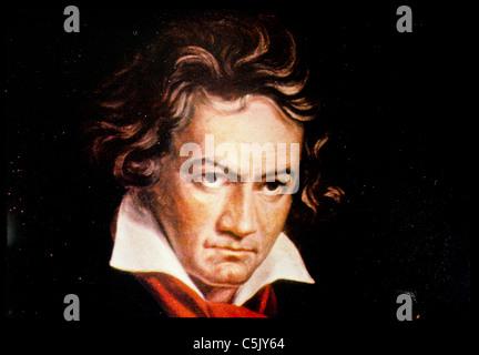 Ludwig van Beethoven - Stockfoto
