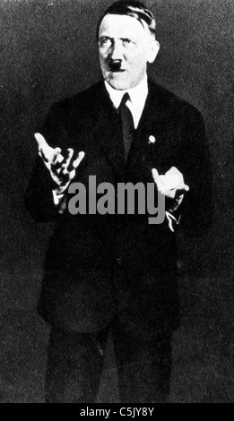 Adolf Hitler, 1930 - Stockfoto