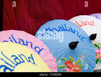 Thai Papier Sonnenschirme - Stockfoto