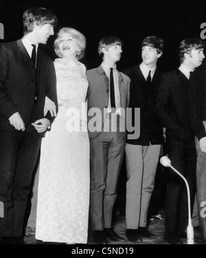 Marlene Dietrich, Beatles, 1967 - Stockfoto