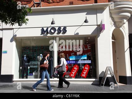 Der Moss-Store in Leicester, England, Vereinigtes Königreich - Stockfoto