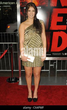 Pippy Katelyn im Ankunftsbereich für RED Premiere, Graumans Chinese Theatre, Los Angeles, CA 11. Oktober 2010. Foto - Stockfoto