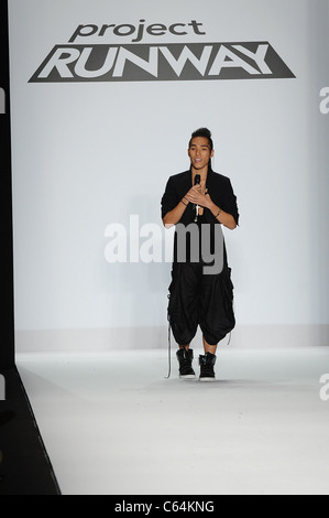 Andy South in Anwesenheit für PROJECT RUNWAY Staffel 8 Finale Show, Lincoln Center, New York, NY 9. September 2010. - Stockfoto