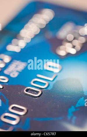 Kreditkarte-finanziellen Hintergrund - Stockfoto