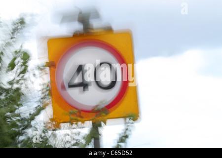 Geschwindigkeit von über 40 Toronto