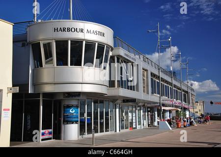 Harbour Master Buildings, Beacon Quay, Torquay, Devon, England, Vereinigtes Königreich - Stockfoto
