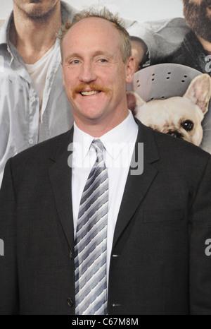 Matt Walsh im Ankunftsbereich für DUE DATE Premiere, Graumans Chinese Theatre, Los Angeles, CA, 28. Oktober 2010. - Stockfoto