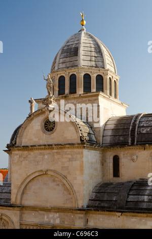 Kathedrale St. Jakob, Sibenik, Kroatien, - Stockfoto