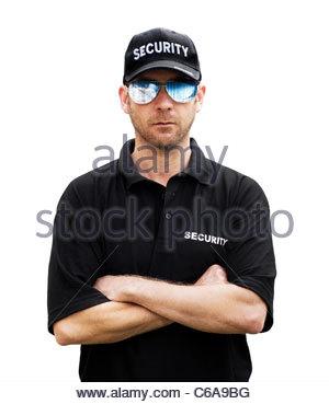 Security Guard - Stockfoto