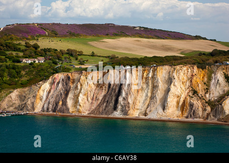 Alum Bay Isle of Wight England Großbritannien - Stockfoto