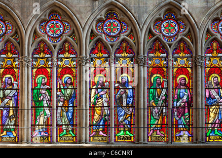 Europa, Frankreich, Troyes, Aube (10), Saint-Pierre-et-Saint-Paul-Kathedrale - Stockfoto