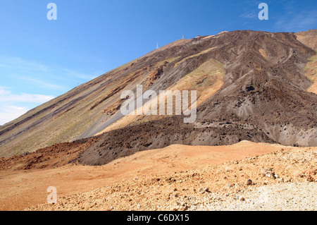 Mount Teide, Nationalpark Teide, Teneriffa, Kanarische Inseln, Spanien, Europa - Stockfoto
