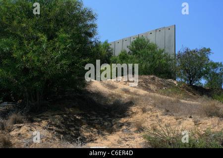 Israel-Palästina-Mauer, Grenze zwischen Bethlehem ...