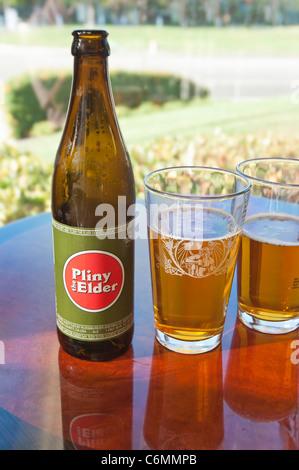 Plinius der ältere double IPA Bier wird als eines der leckersten Biere der Welt bewertet. - Stockfoto