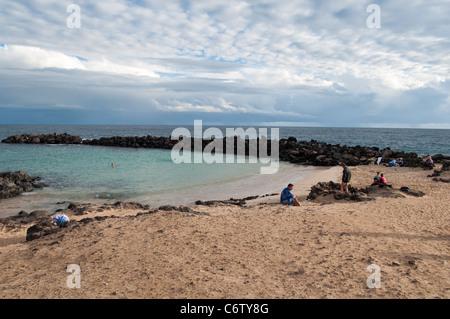 Costa Teguise, Lanzarote, Kanarische Inseln - Stockfoto