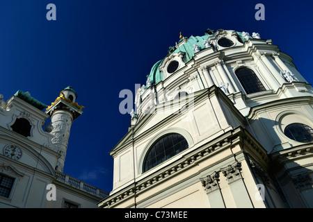 Karlskirche in Wien, Österreich - Stockfoto