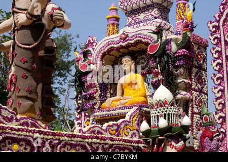 Flower Festival, Chiang Mai, Thailand - Stockfoto