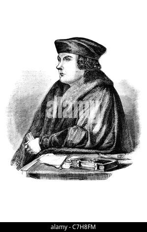 Thomas Cromwell 1. Earl of Essex Porträt Stockfoto