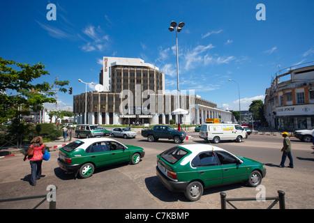 Ministère de L'Economie des finanziert et du Budget (Finanzministerium), Brazzaville, Republik Kongo Afrika - Stockfoto