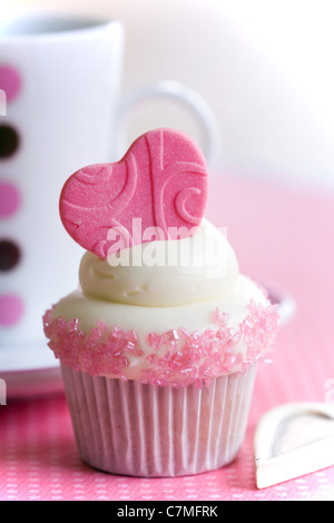 Cupcake-Liebe - Stockfoto
