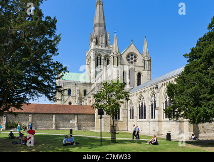 Chichester Kathedrale, Chichester, West Sussex, England, UK - Stockfoto