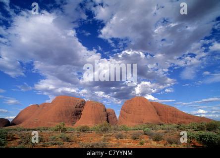 Australien, Olgas Berge, Uluru Nationalpark - Stockfoto