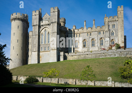 Arundel Castle, The Dukes of Norfolk, West Sussex - 1 Sitz - Stockfoto