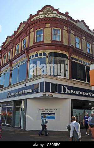 Geschlossen Kaufhaus früher die Genossenschaft in Ipswich, Suffolk UK - Stockfoto