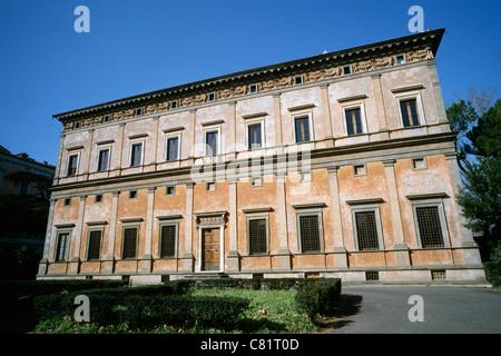 Villa Farnesina Trastevere Rom, Italien. - Stockfoto