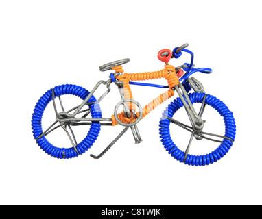 Eine handgefertigte Draht Spielzeug Fahrrad Stockfoto, Bild: 1421971 ...