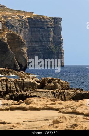 Die Fläche von Azure Window Gozo, Malta - Stockfoto