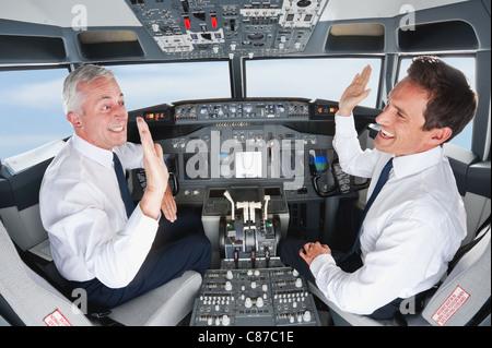 Pilot Und Flugzeug
