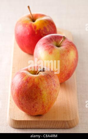 Royal Gala Äpfel - Stockfoto