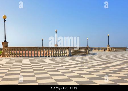 Livorno - Terrazza Mascagni - Stockfoto