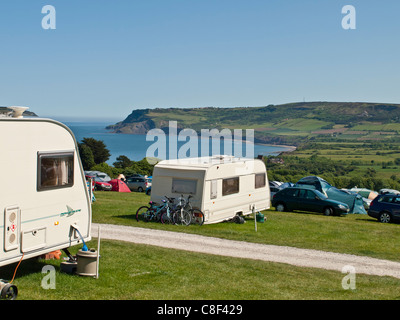 Caravan Und Camping Site Am Haken House Farm Bei Robin Hoods Bay