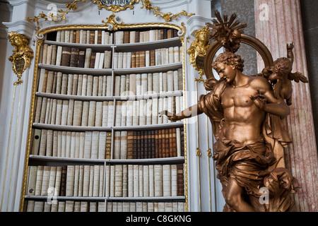 Admont Abtei Bibliothek, Österreich - Stockfoto