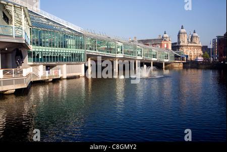 Fürsten Quay Einkaufszentrum, Hull, Yorkshire, England - Stockfoto