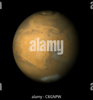 Syrtis Major und Arabia Terra, Mars - Stockfoto