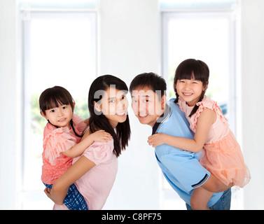 Glückliche Familie Lebensstil - Stockfoto